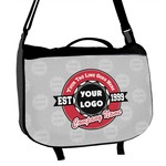 Logo & Tag Line Messenger Bag (Personalized)