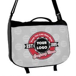 Logo & Tag Line Messenger Bag (Personalized)