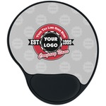Logo & Tag Line Mouse Pad with Wrist Support