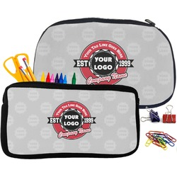 Logo & Tag Line Pencil / School Supplies Bag (Personalized)