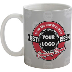 Logo & Tag Line Coffee Mug (Personalized)