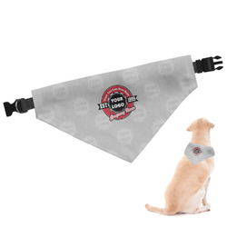 Logo & Tag Line Dog Bandana (Personalized)