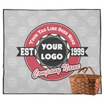 Logo & Tag Line Outdoor Picnic Blanket (Personalized)