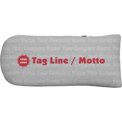 Logo & Tag Line Putter Cover (Personalized)