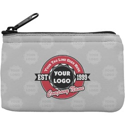 Logo & Tag Line Rectangular Coin Purse (Personalized)