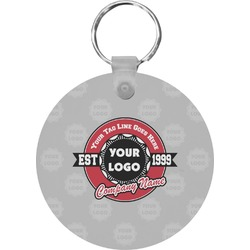 Logo & Tag Line Keychains - FRP (Personalized)