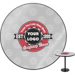 Logo & Tag Line Round Table (Personalized)