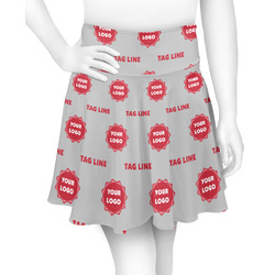Logo & Tag Line Skater Skirt (Personalized)