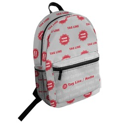 Logo & Tag Line Student Backpack (Personalized)