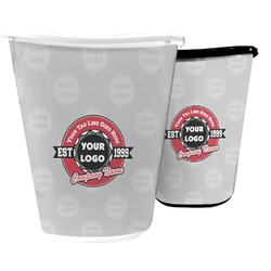Logo & Tag Line Waste Basket (Personalized)