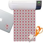 Logo & Tag Line Sticker Vinyl Sheet (Permanent)