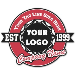 Logo & Tag Line Graphic Decal - Custom Sizes (Personalized)