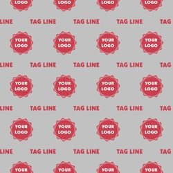 Logo & Tag Line Wrapping Paper (Personalized)