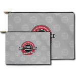 Logo & Tag Line Zipper Pouch (Personalized)