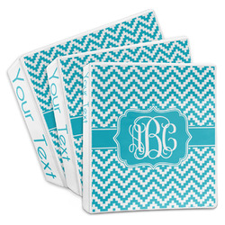 Pixelated Chevron 3-Ring Binder (Personalized)