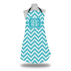 Pixelated Chevron Apron (Personalized)