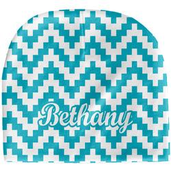 Pixelated Chevron Baby Hat (Beanie) (Personalized)
