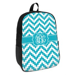 Pixelated Chevron Kids Backpack (Personalized)