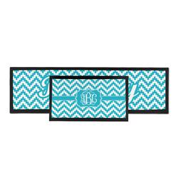 Pixelated Chevron Bar Mat (Personalized)