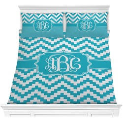 Pixelated Chevron Comforters (Personalized)