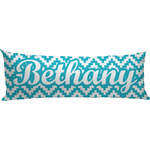 Pixelated Chevron Body Pillow Case (Personalized)