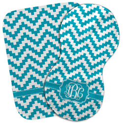 Pixelated Chevron Burp Cloth (Personalized)