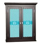 Pixelated Chevron Cabinet Decal - Custom Size (Personalized)