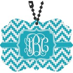 Pixelated Chevron Rear View Mirror Decor (Personalized)