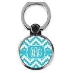 Pixelated Chevron Cell Phone Ring Stand & Holder (Personalized)