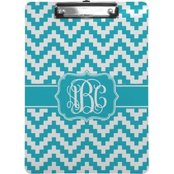 Pixelated Chevron Clipboard (Personalized)