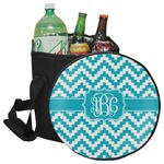 Pixelated Chevron Collapsible Cooler & Seat (Personalized)