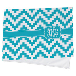 Pixelated Chevron Cooling Towel (Personalized)
