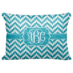 Pixelated Chevron Decorative Baby Pillowcase - 16
