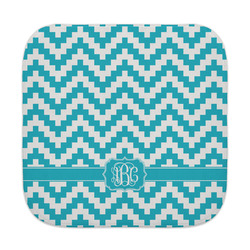 Pixelated Chevron Face Towel (Personalized)