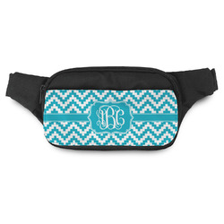 Pixelated Chevron Fanny Pack (Personalized)