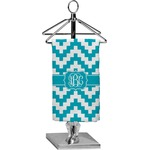 Pixelated Chevron Finger Tip Towel - Full Print (Personalized)