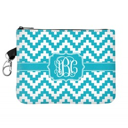 Pixelated Chevron Golf Accessories Bag (Personalized)