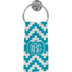 Pixelated Chevron Hand Towel - Full Print (Personalized)