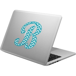 Pixelated Chevron Laptop Decal (Personalized)