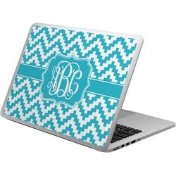 Pixelated Chevron Laptop Skin - Custom Sized (Personalized)