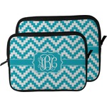 Pixelated Chevron Laptop Sleeve / Case (Personalized)