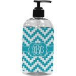 Pixelated Chevron Plastic Soap / Lotion Dispenser (Personalized)