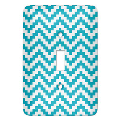 Pixelated Chevron Light Switch Covers (Personalized)