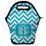Pixelated Chevron Lunch Bag w/ Monogram