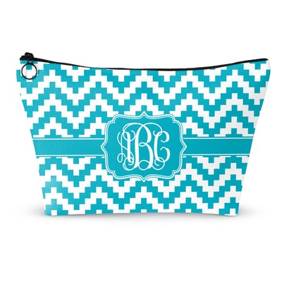 Pixelated Chevron Makeup Bags (Personalized)