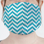 Pixelated Chevron Face Mask Cover (Personalized)