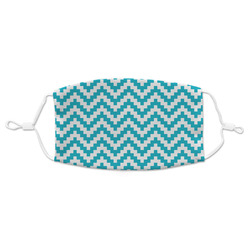 Pixelated Chevron Adult Cloth Face Masks (Available in 2 Sizes) (Personalized)