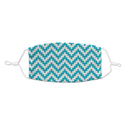 Pixelated Chevron Kid's Cloth Face Mask (Personalized)