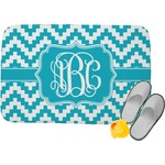 Pixelated Chevron Memory Foam Bath Mat (Personalized)