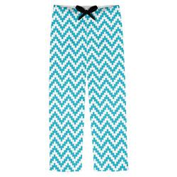 Pixelated Chevron Mens Pajama Pants (Personalized)